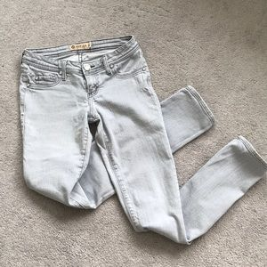 Gray Jeans size 5